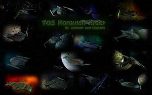 TOS Romulan Fleet by Majestic-MSFC