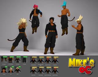 Mike's OC by Shinteo