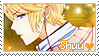 Diabolik Lovers Stamp - Shuu by LaraLeeL