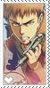 Shingeki no Kyojin Jean Stamp by LaraLeeL