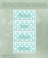 Dotted Green Buttons by LaraLeeL