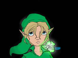 Link and Tatl by DanMizelle