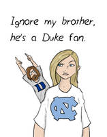 Duke Fan by DanMizelle