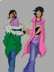 Wonder Twins by DanMizelle