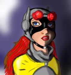 Batgirl by DanMizelle