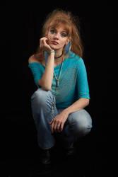 Yana in blue by antoanette