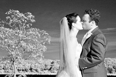 Wedding Day Kiss by Ceardach