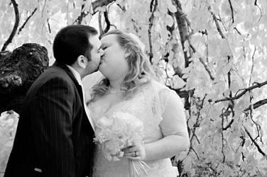 Wedding Day Kiss 2 by Ceardach