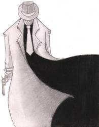 Trench Coat Noir by darkalleydigital