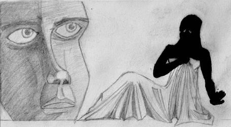 Vulnerable Silhouette by darkalleydigital