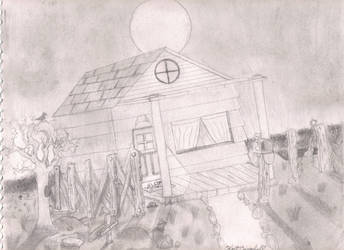 The Lonely Crow by darkalleydigital