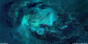 Sector nebulae 4 - The Mirror by JoeyJazz
