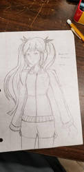 Classroom Sketches - Marie Rose by Konos-P