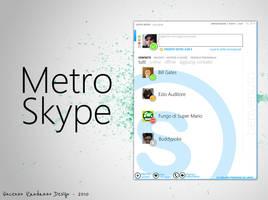 Modern Skype by metrovinz