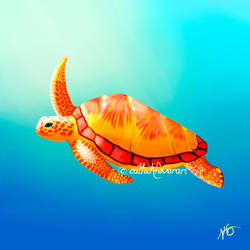 Silas's Turtle by catlickfever