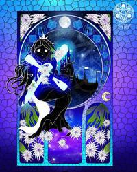 PIU nouveau: Princess and cross by Nihil-Zero