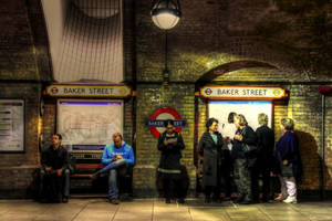 baker street st HDR by booster84