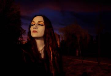 Caress of the Moon light by Metal-Goddess