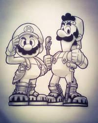 Super Mario Bros. Movie by JR343