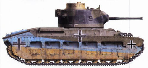 Infanterie Kampfpanzer Mark II 748(e) by TheDesertFox1991
