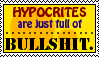 Hypocrites Stamp. by neon-pantheron