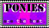 Ponies Stamp. by neon-pantheron