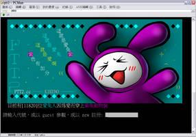 PTT2 Purple Bunny by cjcat2266