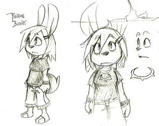 Photon Bunny by cjcat2266