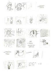 Photon Bunny storyboard by cjcat2266