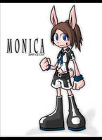 Monica by cjcat2266