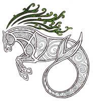 Celtic Kelpie by Kakaro