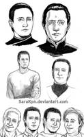 TNG sketches by SaraKpn