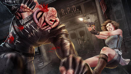 Jill vs. Nemesis by SaraKpn