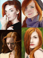 Portrait studies 03 by iZonbi
