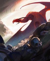 Skully Dragonstuff by iZonbi