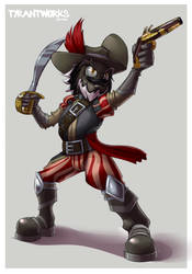 Captain Cutlass by OrionTHedgehog