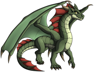 Dragon by OrionTHedgehog