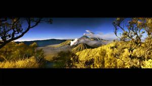 Bromo Panoramic by iwaniga