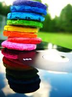 listen to the rainbow by ChibiFoxDemon