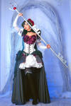 Sailor Pluto Rococo-style, by the art of NoFlutter by Koteg