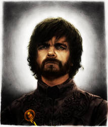 Tyrion Lanister Portrait by BinaryReflex