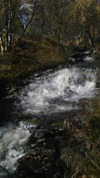 Waterfall in The Rift by BinaryReflex