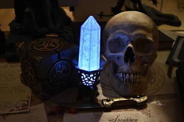 Elder Scrolls. Dwarven Lexicon and Welkynd Stone by BinaryReflex
