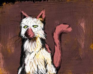 look'it that cat by raocow