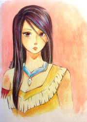 Pocahontas  by shortpinay