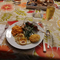 Daughter cooked fantastic Thanksgiving dinner by lestnill