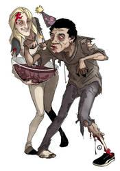 Tony's Zombie Party by Louieville-XXIII