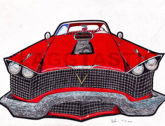 Christine cartoon_FINISHED_ by Laggtastic