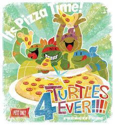 It's PIZZA time! by FREAKfreak