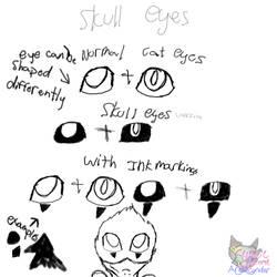 Skyrim eyes by SkyrimsAktahRyders